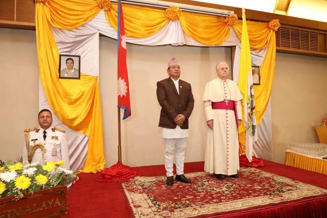 Vatican National Day 2019 in Nepal